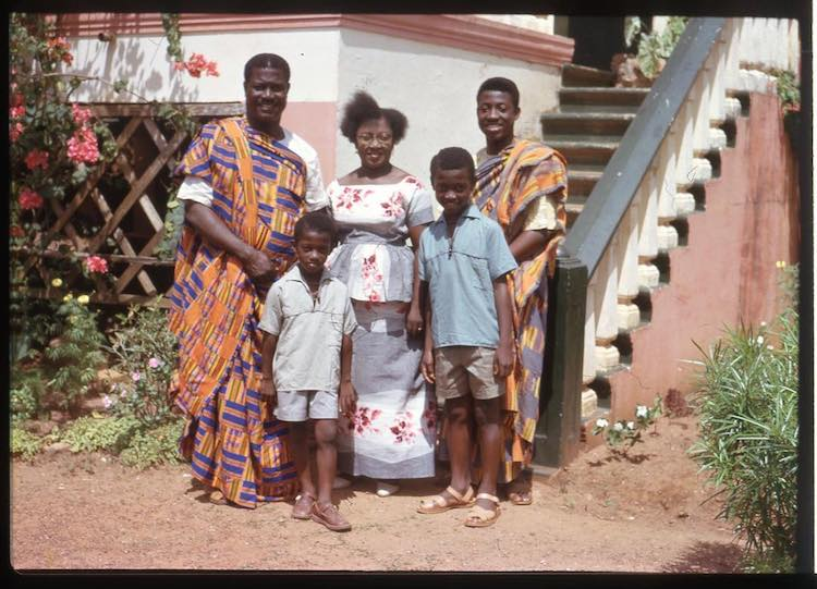 family from ghana