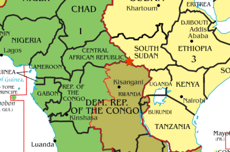 Three Time Zone Areas Explored With A Look At Multiple Time Zone Maps - Eritrea time zone map
