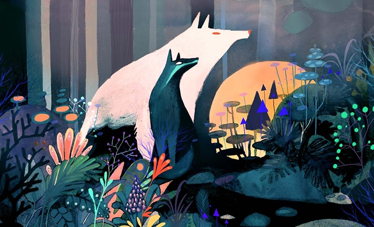Vibrant Nature Illustrations by Juliette Oberndorfer