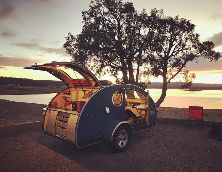 Vistabule Camping Trailer