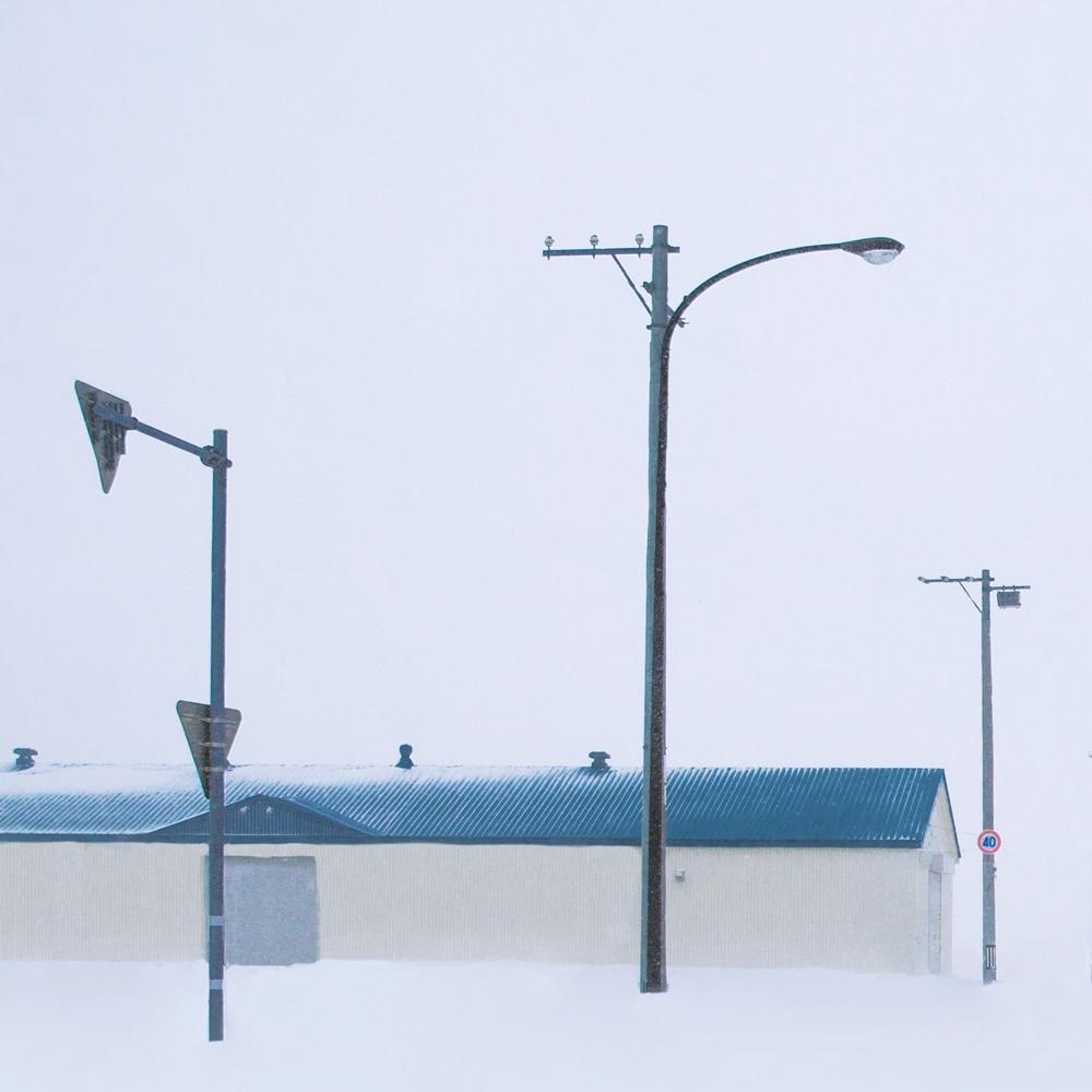纯白世界——北海道