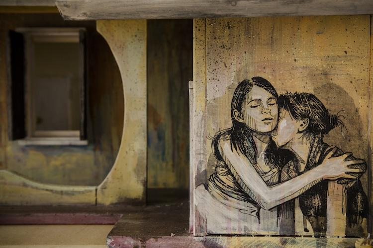 Alice Pasquini female street artist