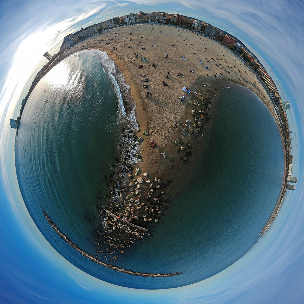360 Photos Barceloneta Bruno Alencastro