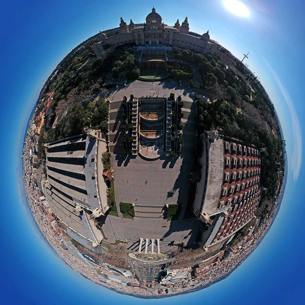 Barcelona 360 Photos by Bruno Alencastro