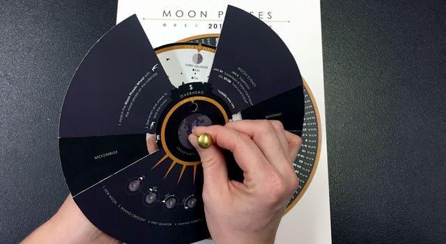 NASA Moon Calculator and Calendar