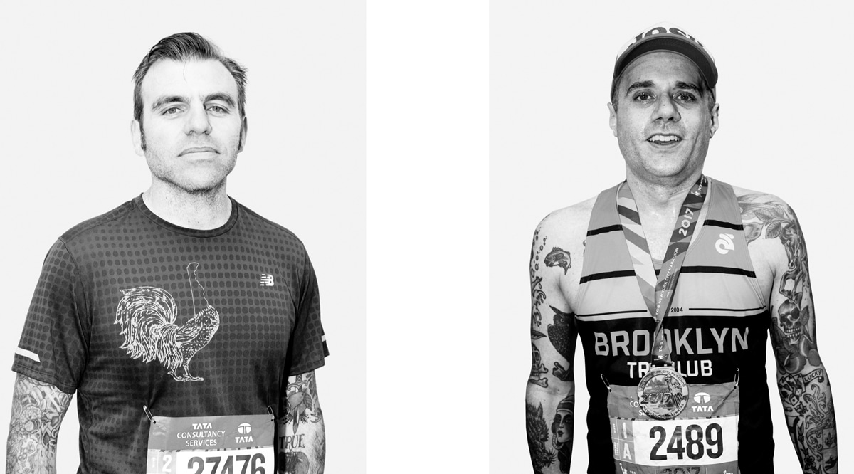 NYC Marathon Runners Photographed by Eddie Cohen