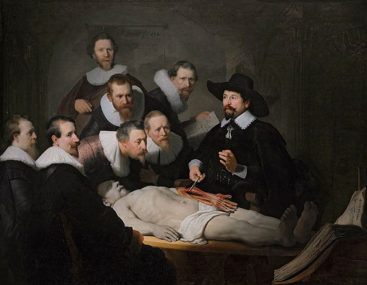 Rembrandt The Anatomy Lesson of Dr. Nicolaes Tulp