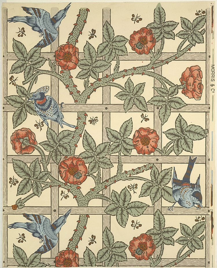 William Morris The Leading Designer Of The Arts And Crafts Movement
