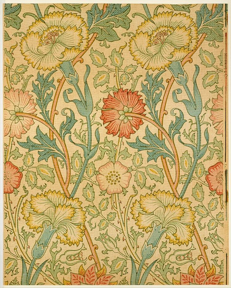 William Morris Iconic Patterns Are Recognizable Designed During 1800