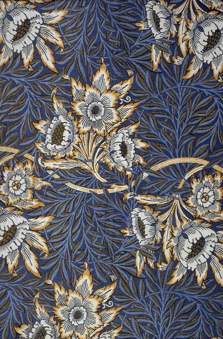 William morris the leading designer of the arts and for Arts and crafts style prints