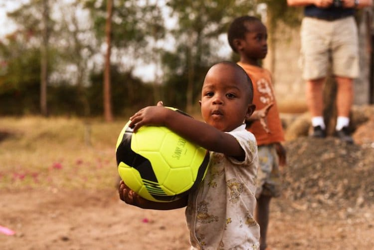 humanitarian work east africa