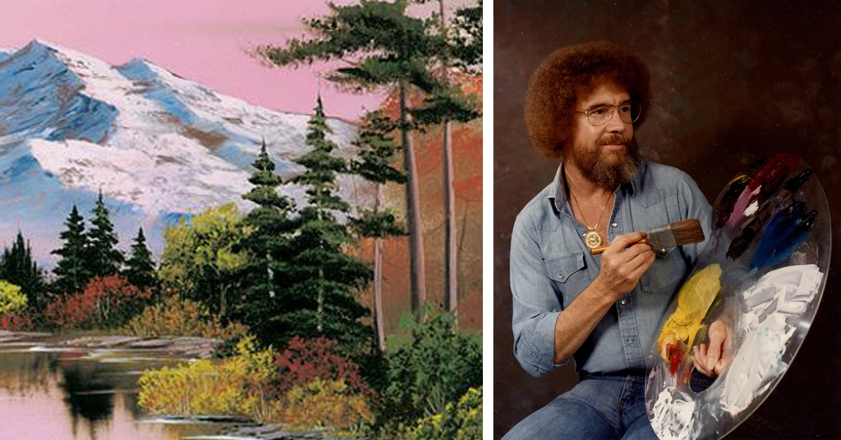 Learn to paint with free episodes of bob ross the joy of for Learn to paint online