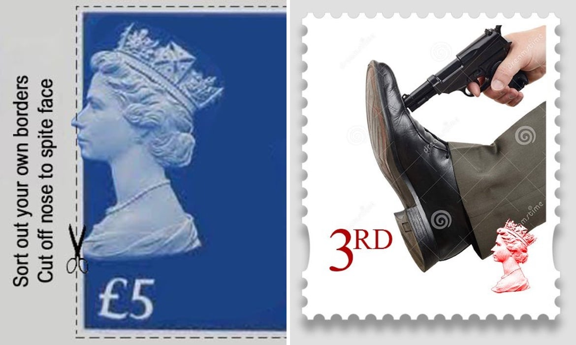 People Creating Their Own Wickedly Funny Brexit Stamps