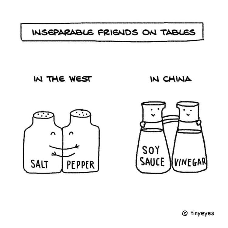 Bandes dessinées sur la Chine par Tiny Eyes