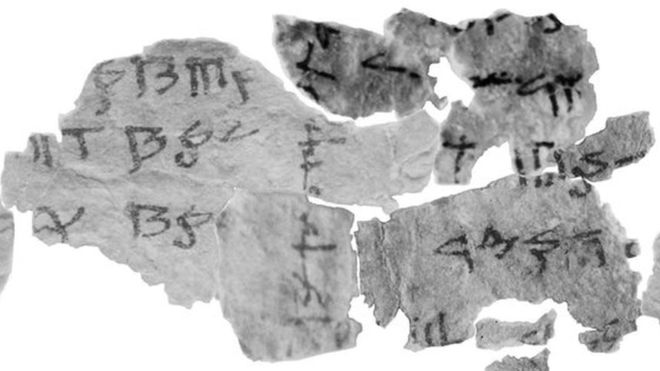 dead sea scroll deciphered