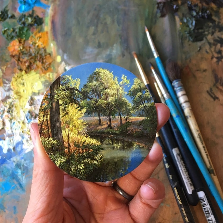 Miniature Paintings by Dina Brodsky