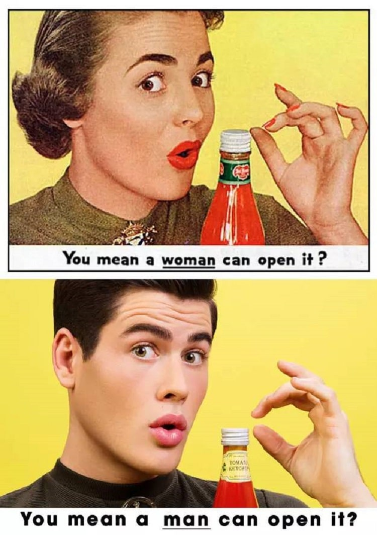 Sexist Vintage Ads Reimagined by Eli Rezkallah