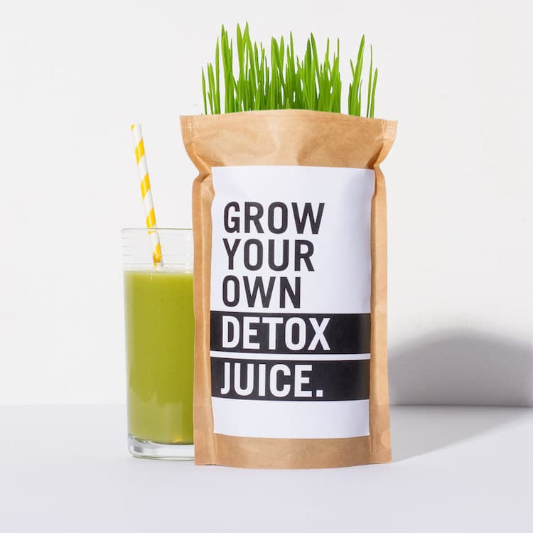 Grow Your Own Detox Juice