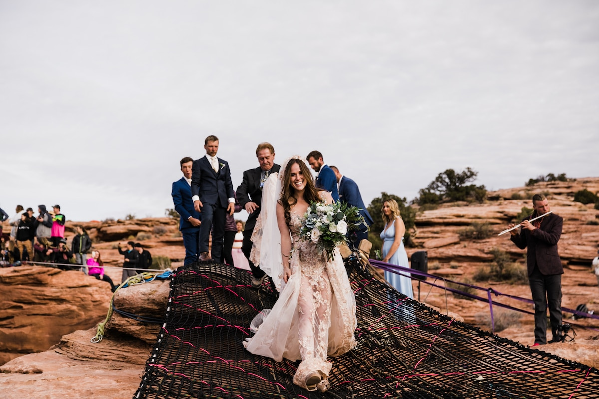 Extreme Wedding Ideas in Moab Utah