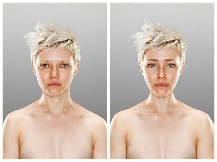 Retrato del yo ideal por Scott Chasserot