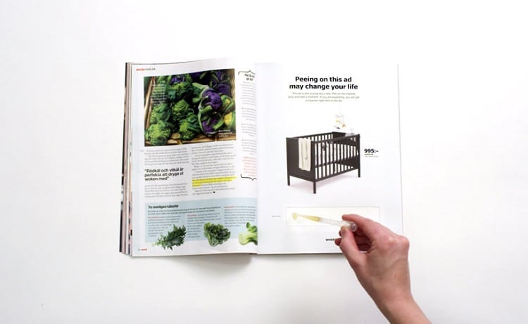 IKEA offers discount if you pee on their new ad