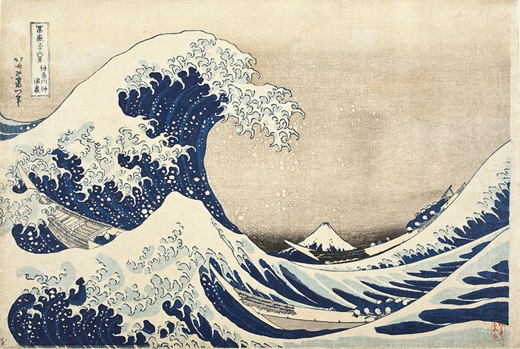 Katsushika Hokusai the Creator of The Great Wave off Kanagawa