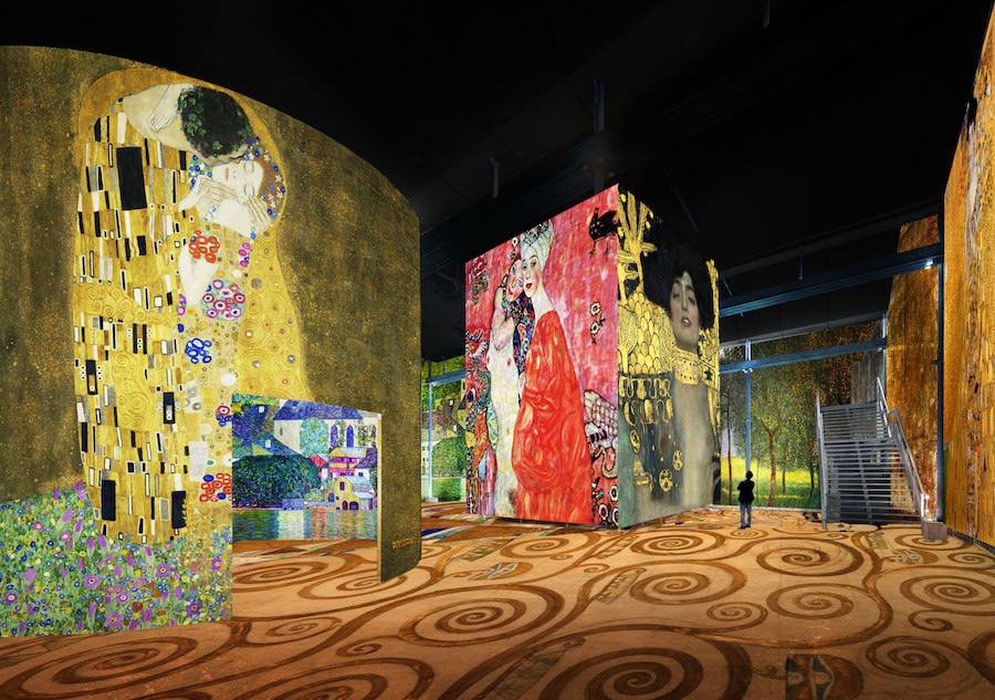 Klimt Art Atelier des Lumieres Immersive Experience Digital Exhibition Paris
