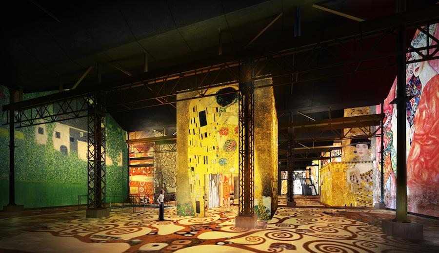 Klimt Art Atelier des Lumieres Immersive Experience Digital Exhibition Paris