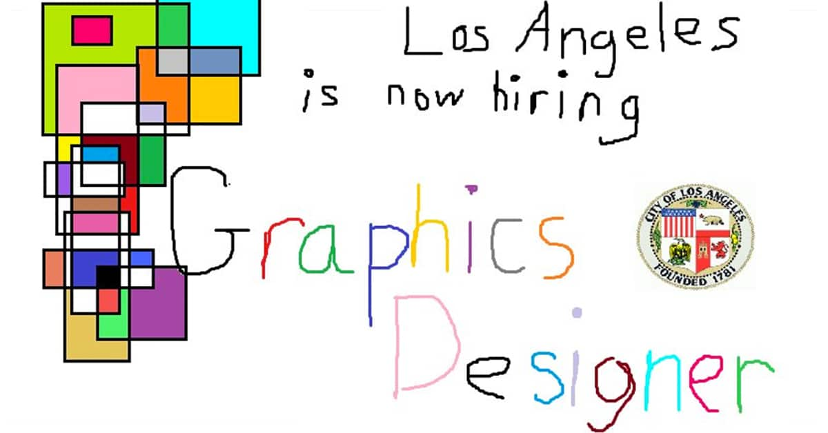 The City Of La Posts Hilarious Graphic Design Job Ad Using Ms Paint