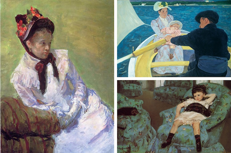 the life and works of mary cassatt Mary cassatt had great respect for the art of manet and degas portrait of an elderly lady demonstrates her admiration for edouard manet through her use of large dark areas, near black, and warm flesh tones applied with the rich, broad brushstrokes typical of manet's work.