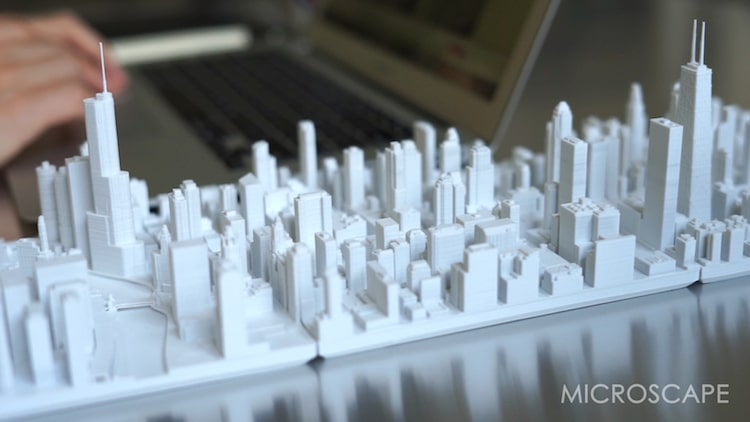 Microscape - Architectural Scale Model Chicago