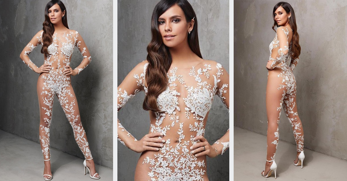 Wedding Jumpsuit Trend Gets Even More Daring by Being Barely There