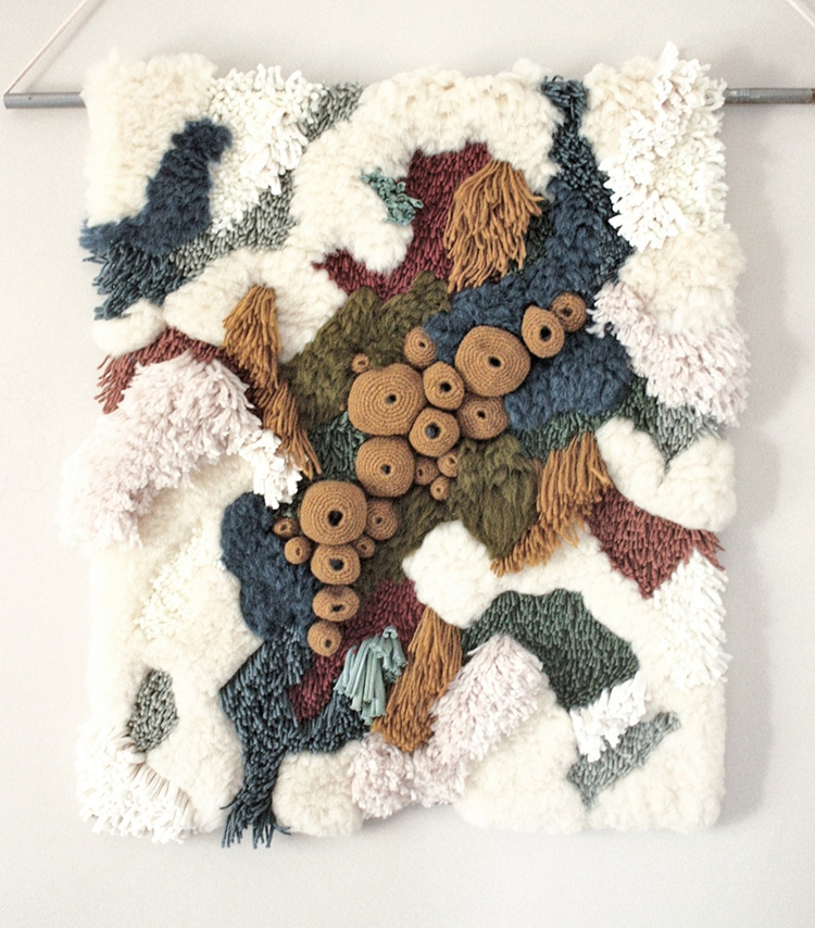 Textile Art Captures The Beauty Of Our World S Coral Reef