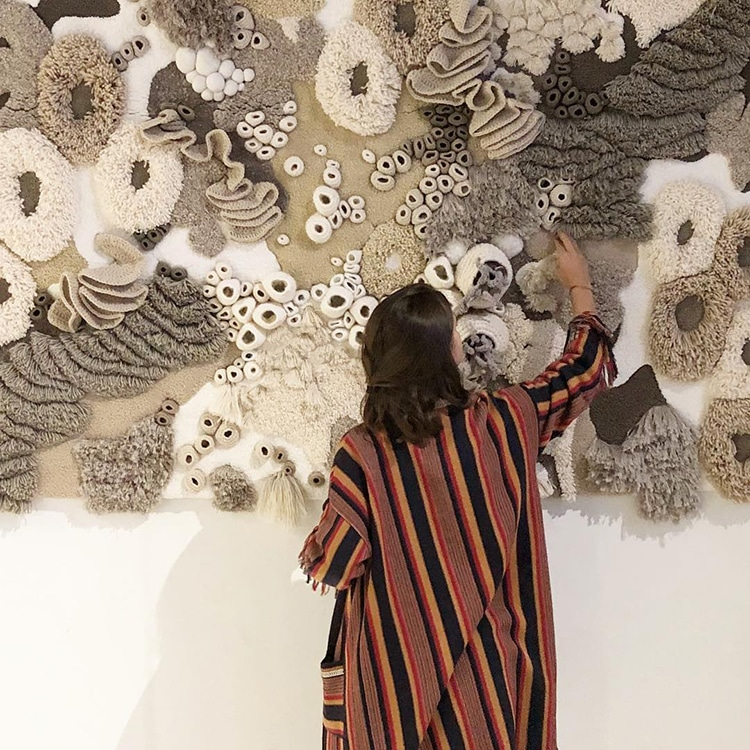 Nature Inspired Textile Art by Vanessa Barragao