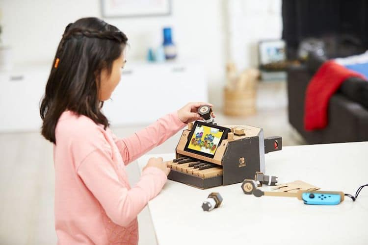 Nintendo Labo Is A Cardboard Diy Kit To Complement The