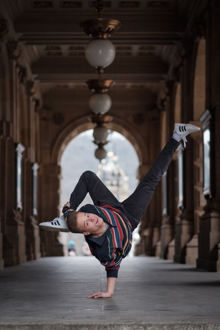 breakdancer in prague omar z robles