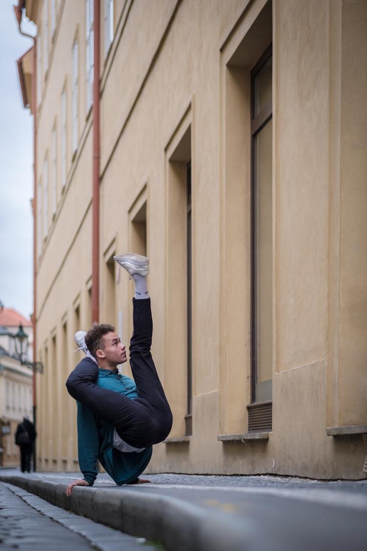 breakdancer in prague omar z robles