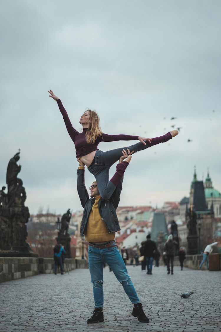Photos of dancers in Prague Omar Z Robles