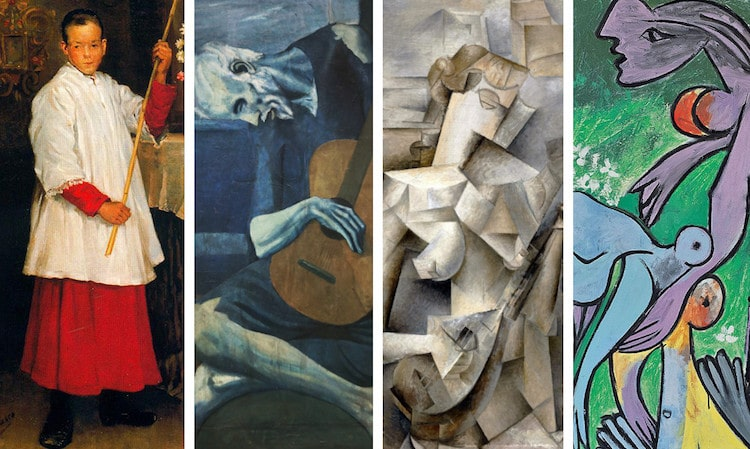 Picasso Paintings From Each Period Showcase The Artist S Evolution