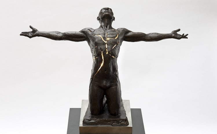 Figurative Bronze Sculpture by Paige Bradley
