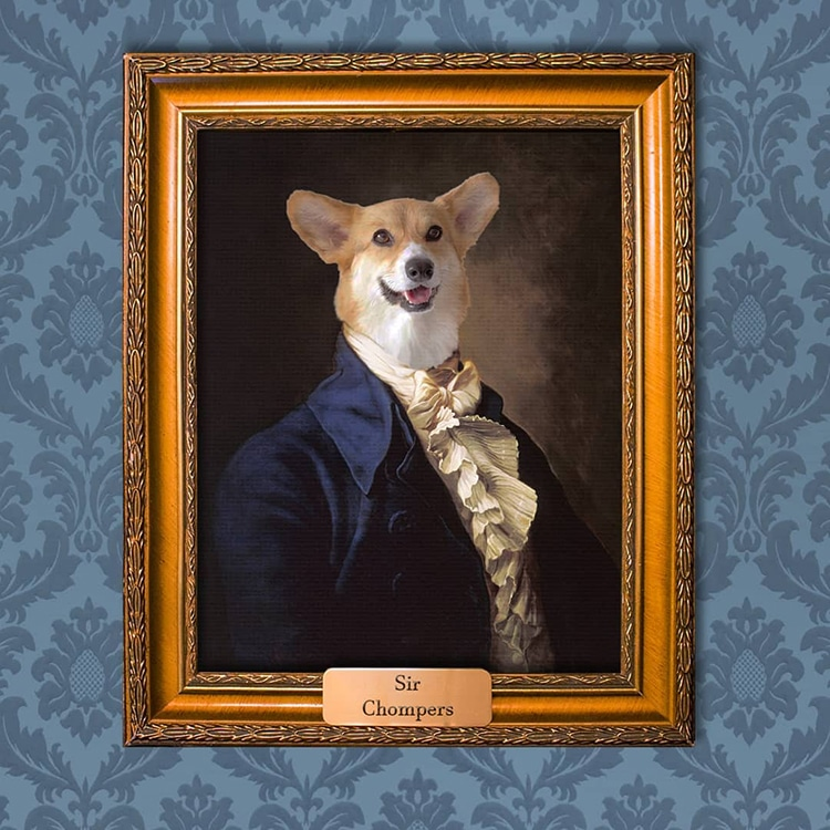 Treat Your Pets Like Royalty With Custom Made Pet Portrait