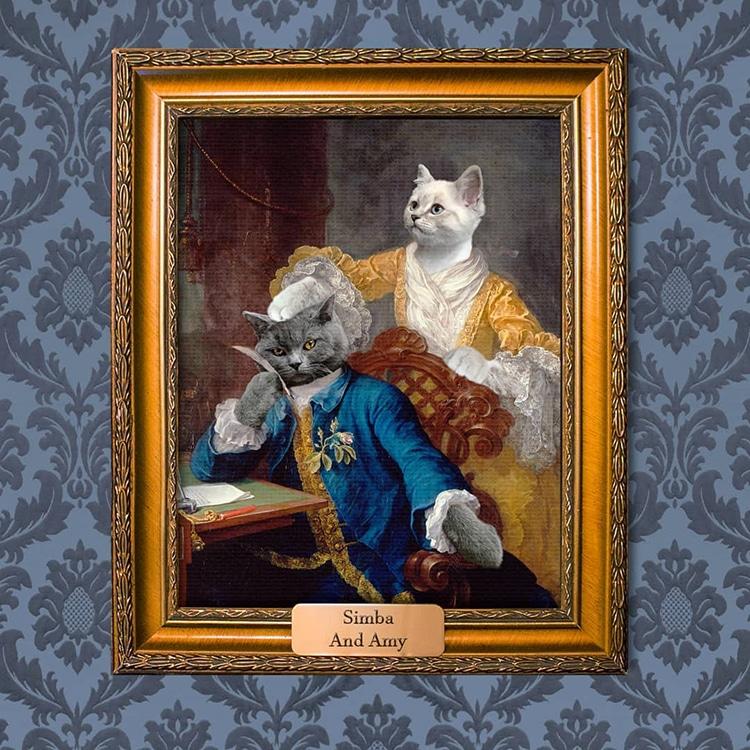 8c2423456 ... Pet Portrait Paintings by Mantelpiece Masterpiece Mantelpiece  Masterpiece: Website | Instagram