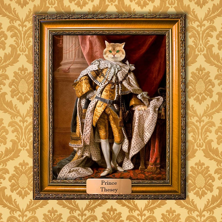 Pet Portrait Paintings by Mantelpiece Masterpiece