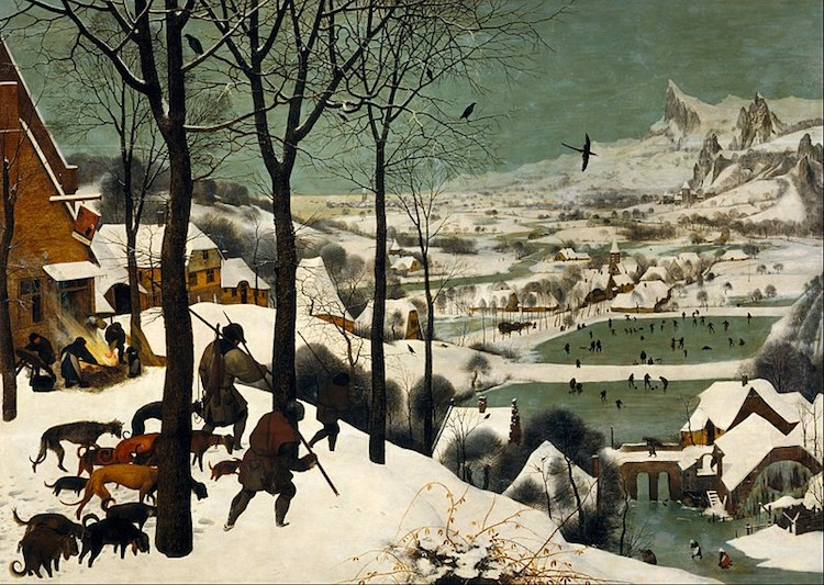 Famous Renaissance Artists Bruegel the Elder The Hunters in the Snow (Winter)