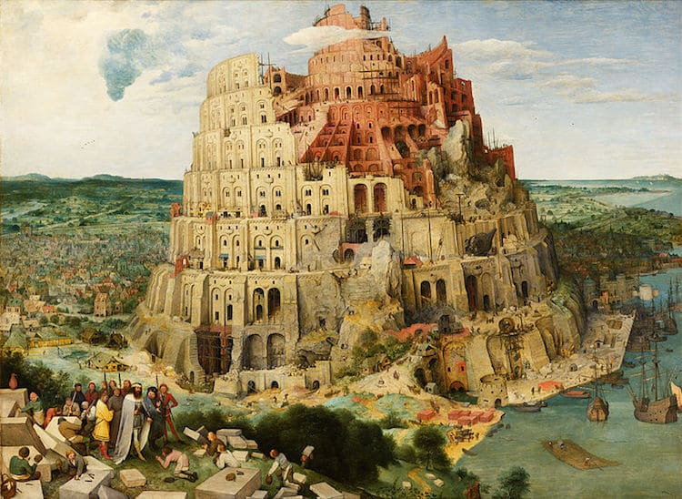 Famous Renaissance Artists Bruegel the Elder Tower of Babel