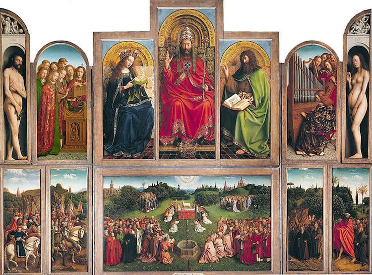 Artistas del Renacimiento nórdico - Jan van Eyck