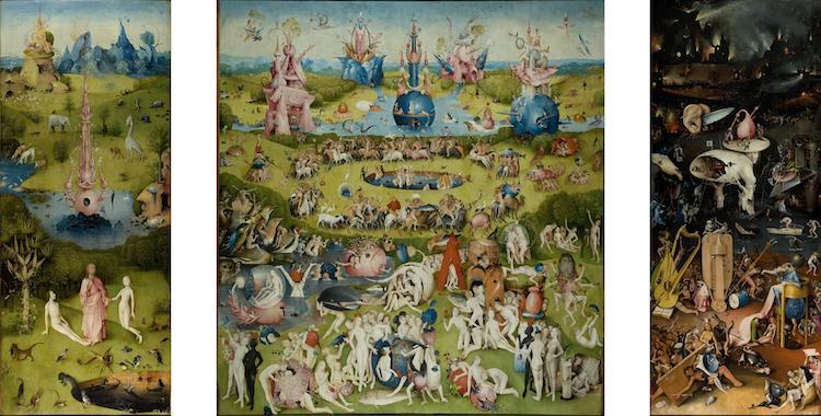 Artistas del Renacimiento nórdico -Jardín de las delicias del Bosco