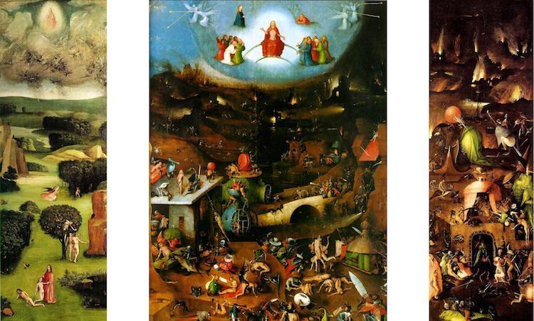 Artistas del Renacimiento nórdico - El Juicio Final del Bosco
