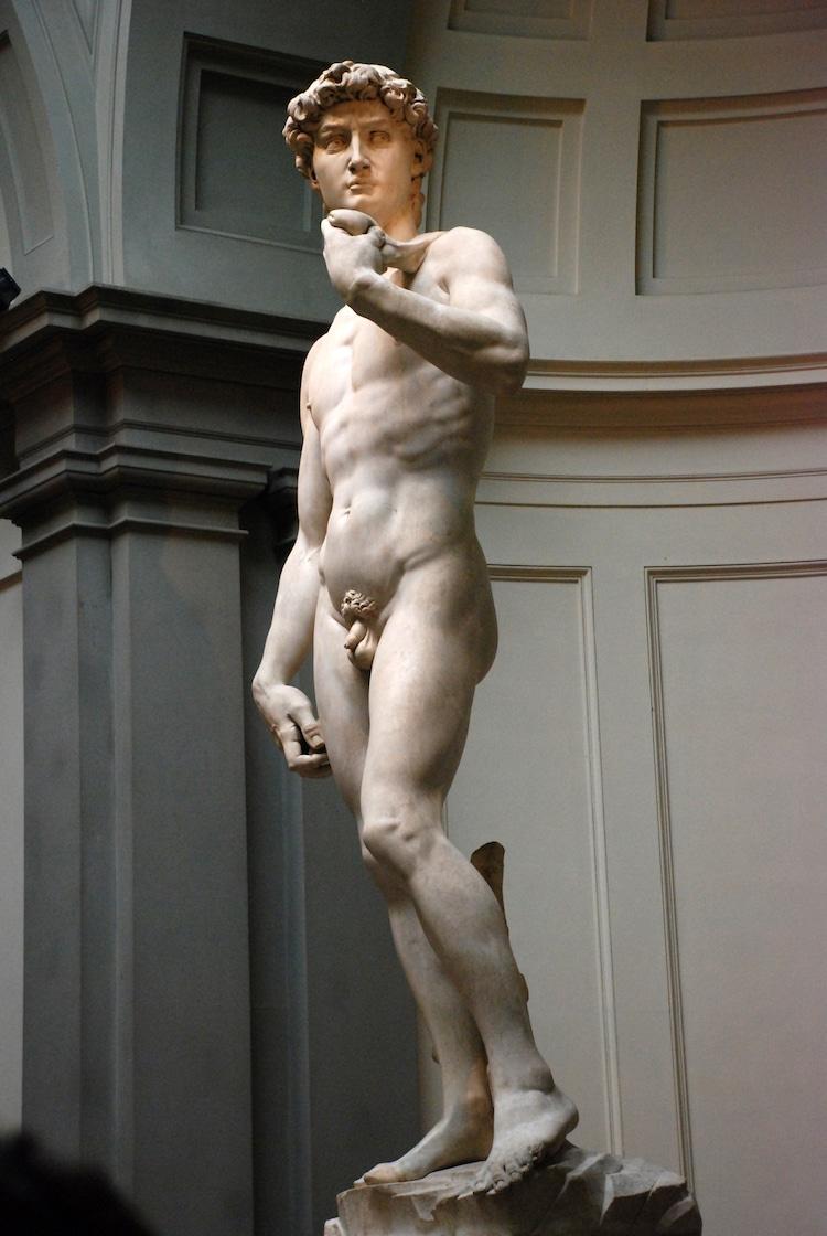 Famous Italian Renaissance Artists Michelangelo David