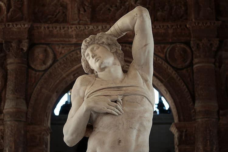 Famous Renaissance Artists Michelangelo Dying Slave